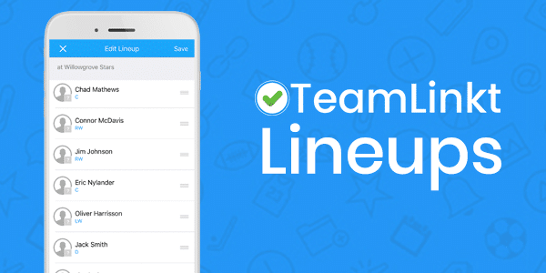 New Feature: Lineups