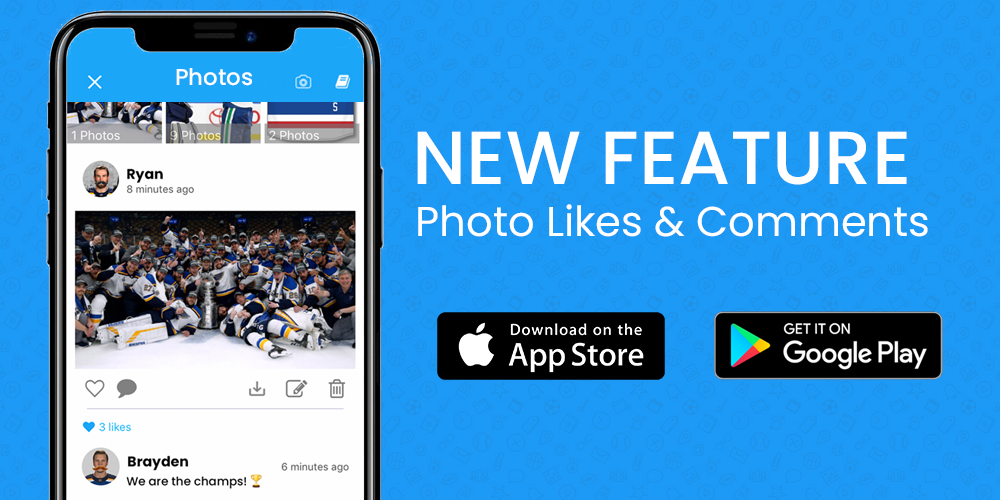 New Feature: Photo Likes & Comments