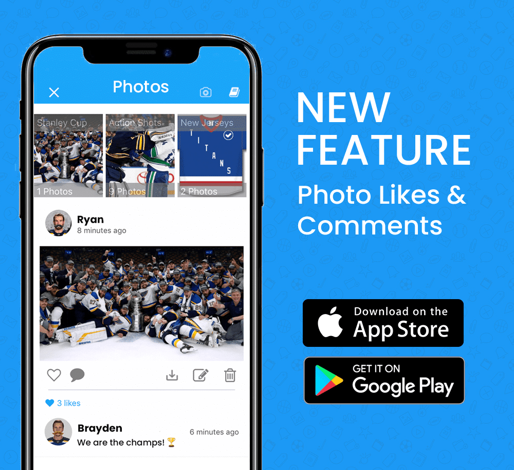 teamlinkt new feature photo likes comments social media