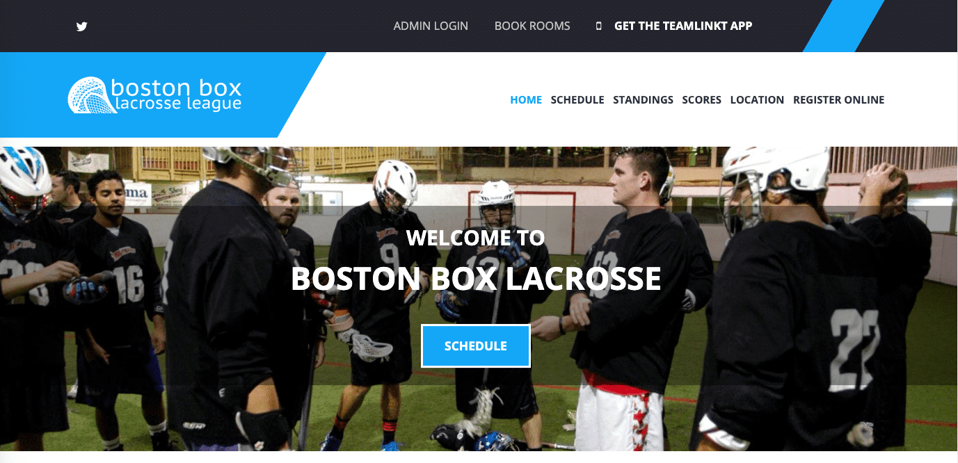 boston box lacrosse teamlinkt league website
