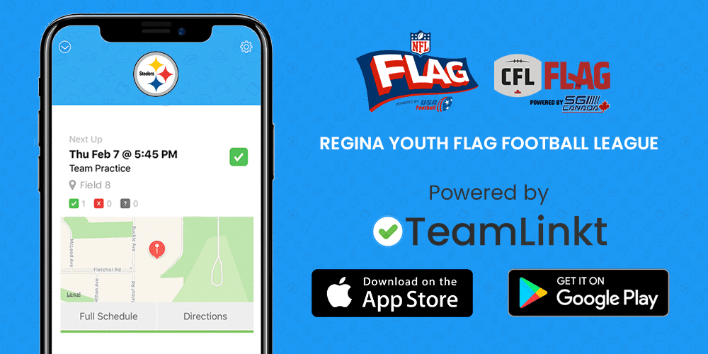 Regina Youth Flag Football League is staying organized with TeamLinkt