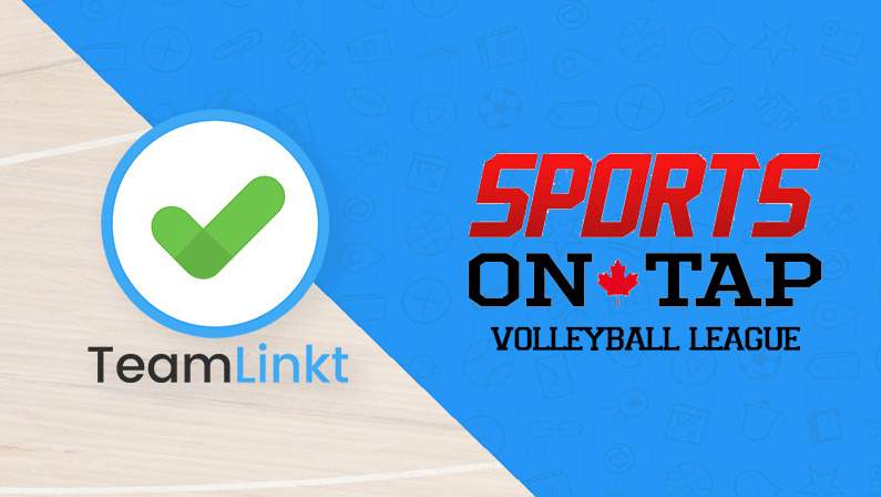 How Sports on Tap Volleyball League Used TeamLinkt for the 2020 Season