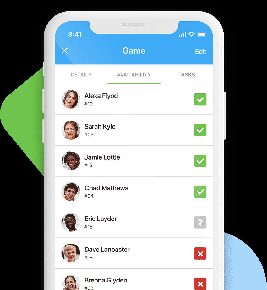 team management app availability
